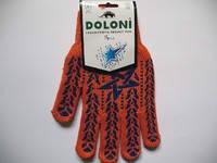 Перчатки рабочие с ПВХ нанесением *Звезда* (Долони)