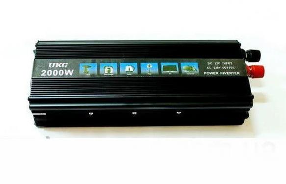 Преобразователь автомобильный напряжения инвертор AC/DC 2000W 12V