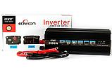 Преобразователь автомобильный напряжения инвертор AC/DC 2000W 12V, фото 2