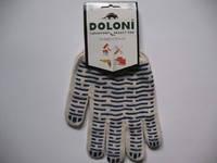 Рабочие перчатки с ПВХ нанесением *Волна* (Долони)