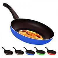 Сковорода антипригарна MH-0279, діаметр 20 см, колір асорті, метал/пластик, сковорідка, сковорідки