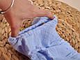 Трусики-блумеры на підгузник, блакитні, фото 4