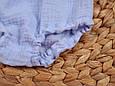 Трусики-блумеры на підгузник, блакитні, фото 3