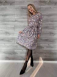 Сукня жіноча софт батал