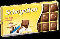 Немецкий молочный шоколад для детей Schogetten for kids 100g