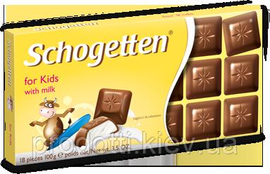 молочный шоколад для детей schogetten for kids with milk 100g
