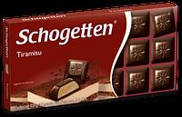 Немецкий черный шоколад Schogetten Tiramisu 100g