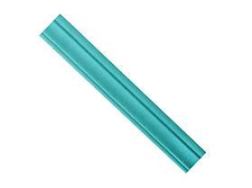 Гибкий самоклеящийся плинтус / багет 2300х80х8мм(Т-10) Голубой
