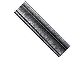 Гибкий самоклеящийся плинтус / багет 2300х80х8мм(Т-15) Серый