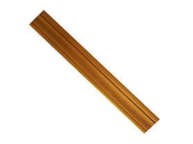 Гибкий самоклеящийся плинтус / багет 2300х80х8мм(Т-9) Золото