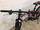 """Складаний Велосипед 26\"""" BeGasso Soldier рама 17\"""" чорно-червоний колір на зростання 155-185 см, фото 4"""