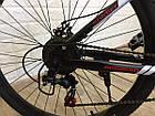 """Складаний Велосипед 26\"""" BeGasso Soldier рама 17\"""" чорно-червоний колір на зростання 155-185 см, фото 6"""