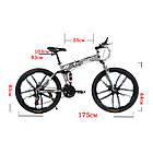 """Велосипед складной 26"""" BeGasso Soldier  рама 17"""" черно-красный цвет на рост 155-185 см, фото 9"""