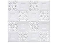 Самоклеюча 3D панель 700х700х8мм (SL-1) Білий