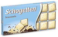 Немецкий белый шоколад Schogetten Stracciatella 100g