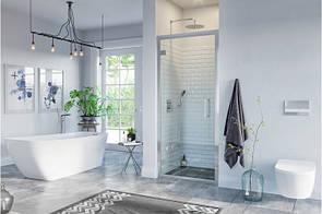 Двері душові Excellent Seria 600 розпашні