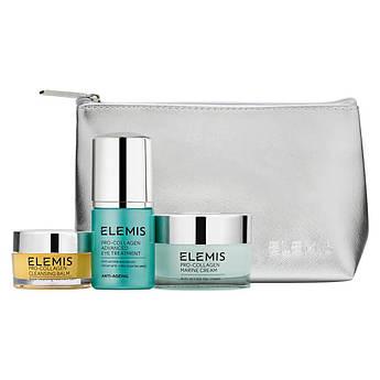Набір косметики для омолодження шкіри Elemis Pro-Collagen Anti-Aging Trio Starter Kit 20 г + 30 мл + 30 мл