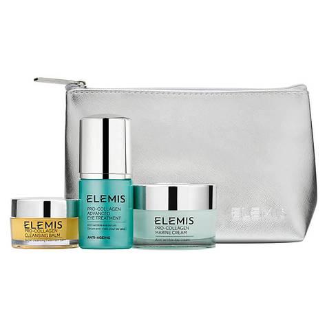 Набор косметики для для омоложения кожи Elemis Pro-Collagen Anti-Aging Trio Starter Kit 20 г + 30 мл + 30 мл