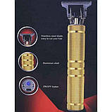 Окантовочні триммер для волосся GEEMY GM-6603, Машинка для стрижки волосся, фото 6