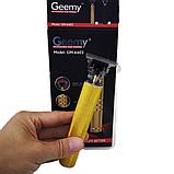 Окантовочный триммер для волос GEEMY GM-6603, Машинка для стрижки волос, фото 7