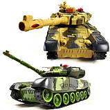 ✅Великий бойовий танк на радіокеруванні 9995. Два кольори, фото 7
