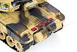 ✅Великий бойовий танк на радіокеруванні 9995. Два кольори, фото 10