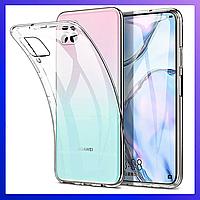 Huawei P40 lite Защитный чехол противоударный \ бампер \ накладка \ чохол Transparent