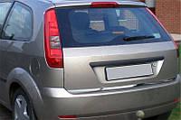 Кромка крышки багажника (нерж.) OmsaLine - Итальянская нержавейка для Ford Fiesta 2002-2008 гг.