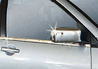 Mitsubishi Lancer 9 Накладки на зеркала из нержавейки, фото 1