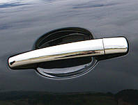 Комплект накладок на дверные ручки Пежо 207 (для 2-дверных авто)