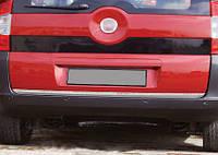 Кромка багажника (нерж.) для Peugeot Bipper (2008↗)