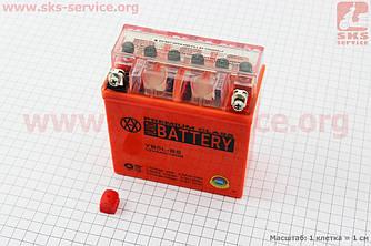 Аккумулятор 5Аh YB5L-BS гелевый, Active (L120*W60*H130mm), 2021 (348069)