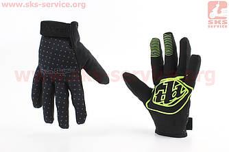 Перчатки XL черно-серые, с силиконовыми вставками, НЕ оригинал (408128)