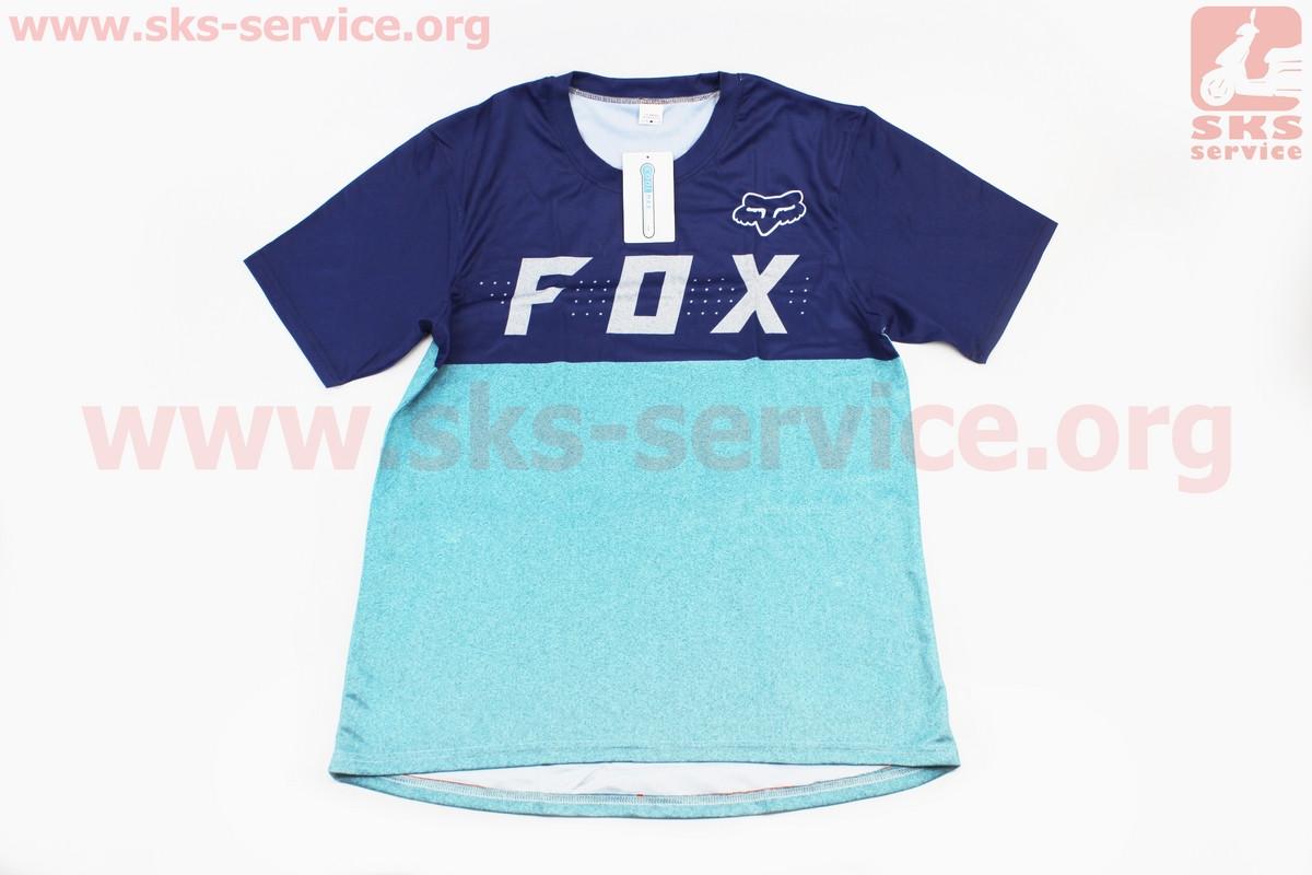 Футболка (Джерси) для мужчин L - (Polyester 80% / Spandex 20%), короткие рукава, свободный крой,
