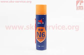 """Очиститель для тормозных дисков """"N6"""", аэрозоль 280ml (407224)"""