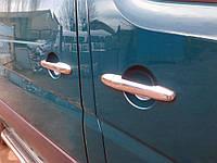 Накладки на ручки Carmos (нерж) Mercedes Sprinter 906