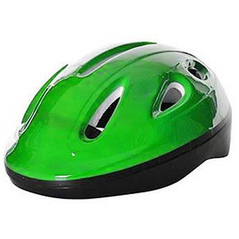 Детский шлем для катания на велосипеде MS 0013-1 с вентиляцией (Зелёный)