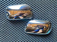 Toyota Corolla 2002-2007 пластикові Накладки на дзеркала, фото 1