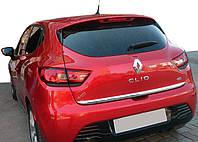 Кромка багажника нерж. Renault Clio IV, фото 1