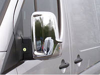 Mercedes Sprinter 906 Накладки на дзеркала Carmos (нерж)