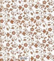 Пленка для аквапринта Цветы МА50-1 (ширина 100см)