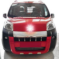 Передняя губа Emotion (под покраску) для Fiat Fiorino/Qubo 2008↗ гг.