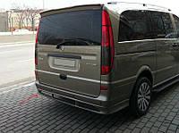 Mercedes Viajo Накладка на задний бампер Sport (под покраску)