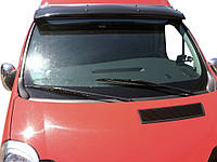 Renault Trafic Козирок чорний (на кронштейнах), фото 1