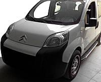 Боковые пороги Duru (2 шт., алюминий) для Fiat Fiorino/Qubo 2008↗ гг.
