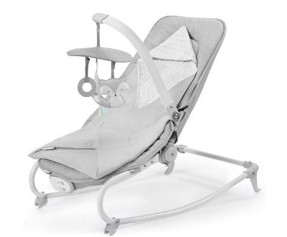 Крісло-гойдалка Kinderkraft Felio 2020 Stone Grey