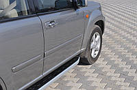 Nissan X-Trail 2002-2007 Боковые пороги фуллмонд