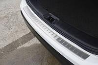Nissan Qashqai 2014-2017 Накладка на задний бампер OmsaLine, фото 1
