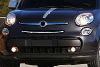 Fiat 500L Накладки на решетку (popstar)