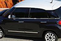 Fiat 500L Молдинг стекла (нерж.)